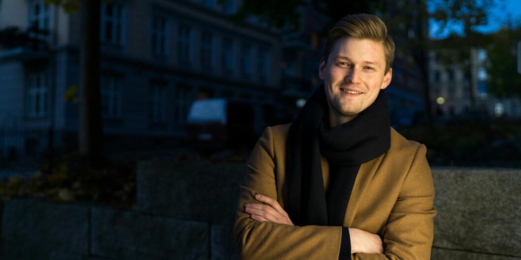 Leder i NSO, Mats Johansen Beldo. Foto: David Engmo