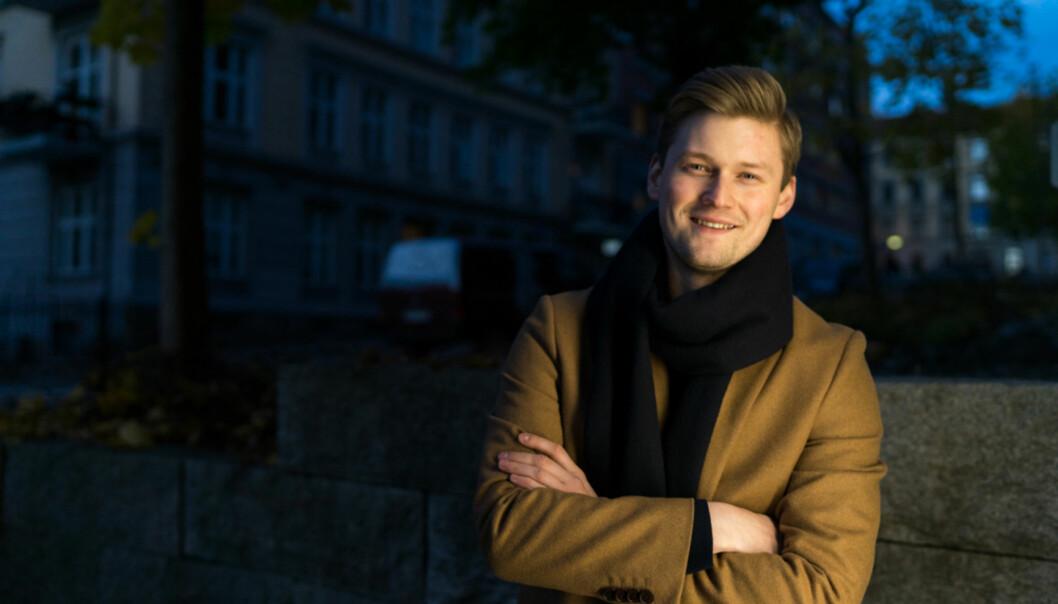 De høyere utdanningsinstitusjonene har mye å lære av Norsk studentorganisasjon når det gjelder samarbeid, mener NSO-leder, MatsBeldo. Foto: David Engmo