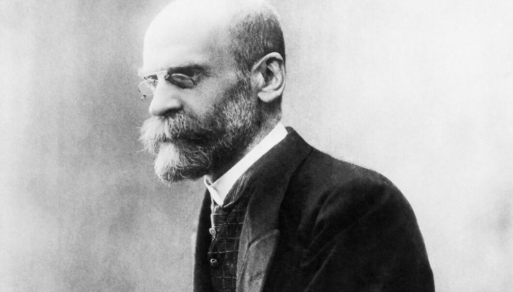 Det arrangeres foredrag om den franske sosiologen Emile Durkheim på HiOA. Foto: Ukjent