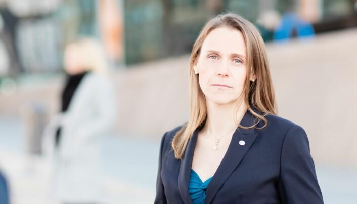 Lise Lyngsnes Randeberg er president i Tekna.