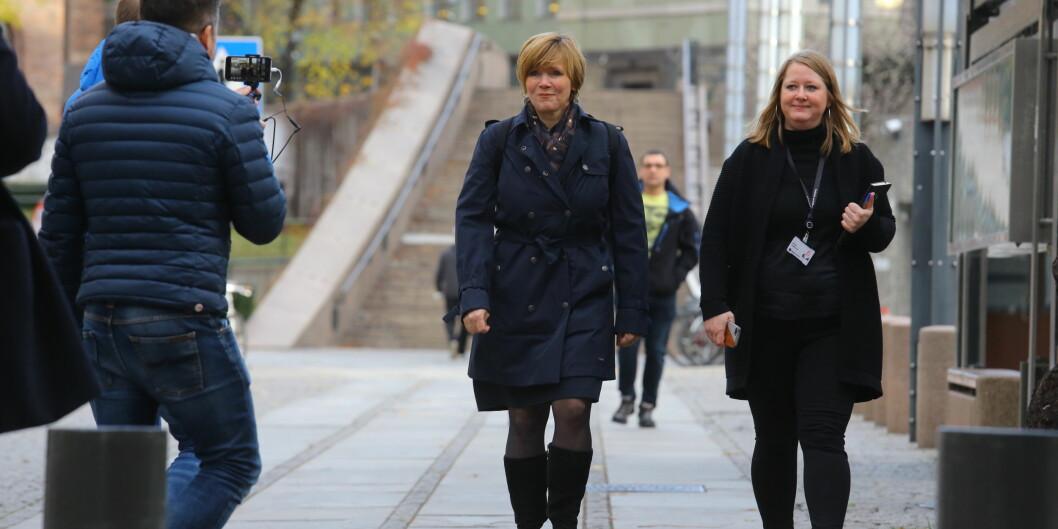 """Administrerende direktør i <span class=""""caps"""">SSB</span>, Christine Meyer, har ikke lenger finansministeren Siv Jensens tillit. Meyer sier hun frykter for byråetsuavhengighet. Foto: Morten Uglum"""