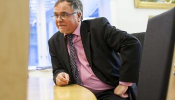 Kjell Bernstrøm er universitetsdirektør ved UiB. Foto: Ingvild Festervoll Melien