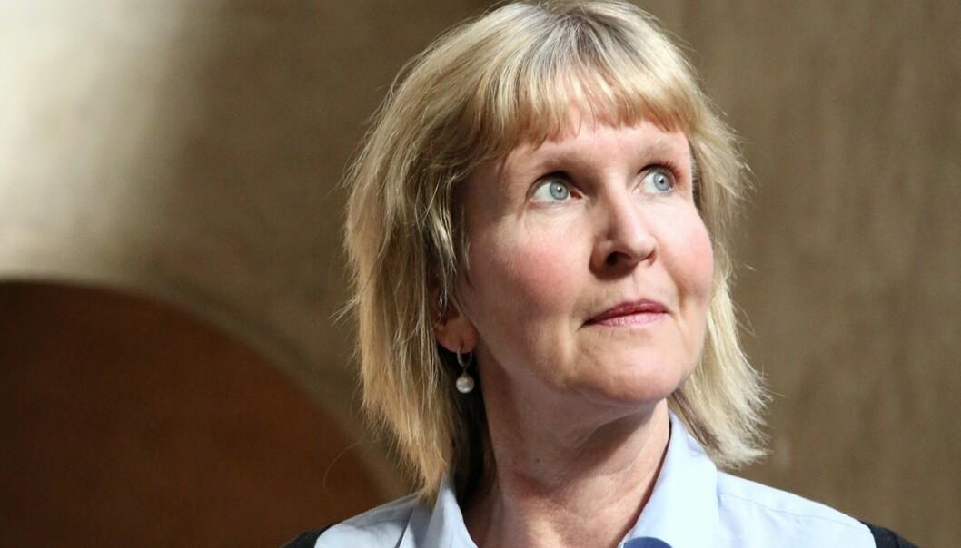 Organisasjonsdirektør ved NTNU, Ida Munkeby. Foto: Idun Haugan, NTNU