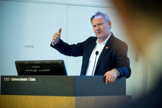 Per Morten Sandset, viserektor på UiO. Foto: Ketil Blom Haugstulen