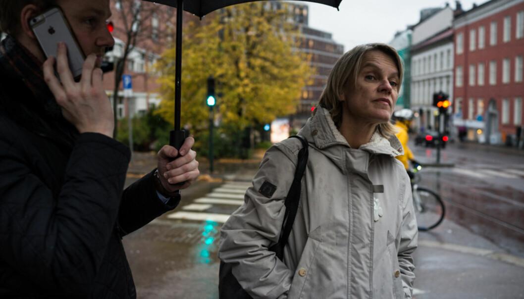 Stortingsrepresentant fra Arbeiderpartiet, Nina Sandberg, er skeptisk til regjeringens tiltak for studenter fra det globale sør. Foto: David Engmo