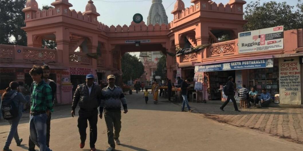 "Illustrasjonsfoto: Benares Hindu University (<span class=""caps"">BHU</span>) i Varanasi, India. Foto: Sofie VegaWollbraaten"