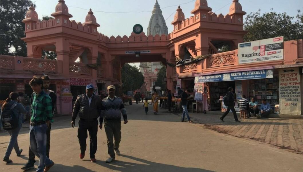Illustrasjonsfoto: Benares Hindu University (BHU) i Varanasi, India. Foto: Sofie VegaWollbraaten