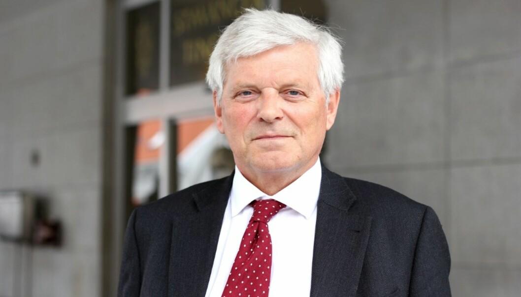 Advokat Kjell M. Brygfjeld, refser både mediene og det han kaller angivere ved Universitetet i Stavanger når det gjelder Langelandsaken. Foto: Magnus Stokka