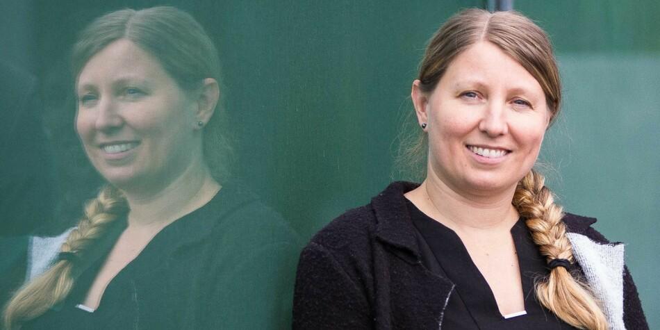 Guro Lind, tidligere leder i Akademiet for yngre forskere er nyvalgt leder i Forskerforbundet. Foto: Siri Øverland Eriksen