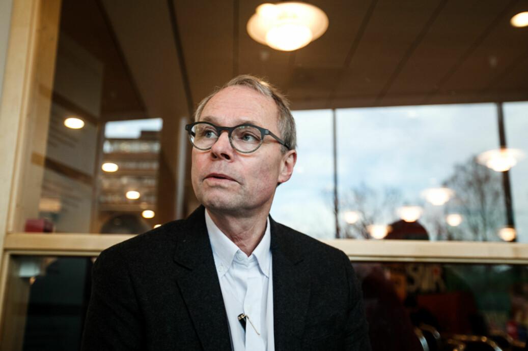 Professor Hans Petter Graver sammenligner forsvaret av universitetene med et sisyfosarbeid. Foto: Ketil Blom Haugstulen