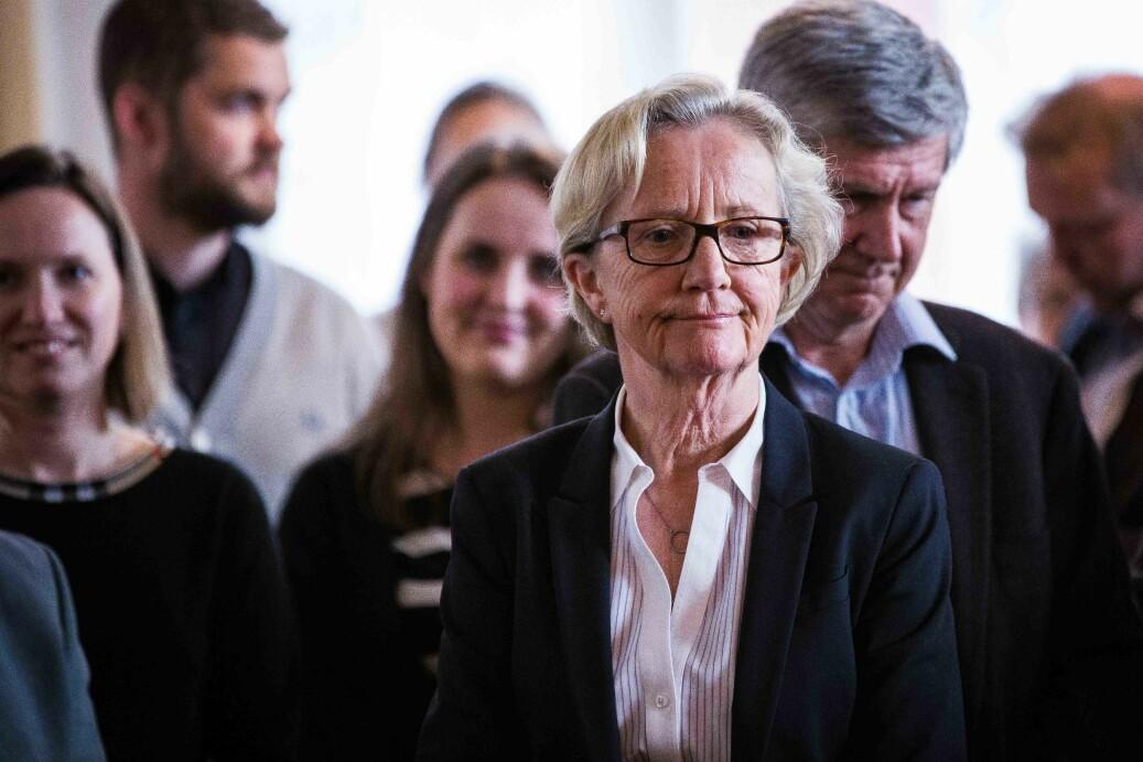 Universitetsdirektør Gunn-Elin Aa. Bjørneboe og Svein Stølen skriver at alle må være med dersom de skal få til regjeringens effektiviseringskutt. Foto: Siri Øverland Eriksen