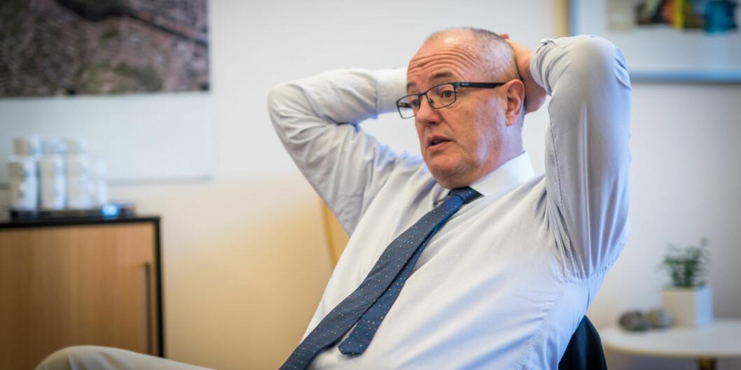 """Gunnar Bovim, rektor ved <span class=""""caps"""">NTNU</span> utelukker ikke en ny vitenskapsfestival, men mener de må lære mye av evalueringene fra årets Starmus-festival. Foto: Skjalg BøhmerVold"""
