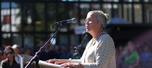 Protest mot direktørvelde på Høgskolen i Innlandet
