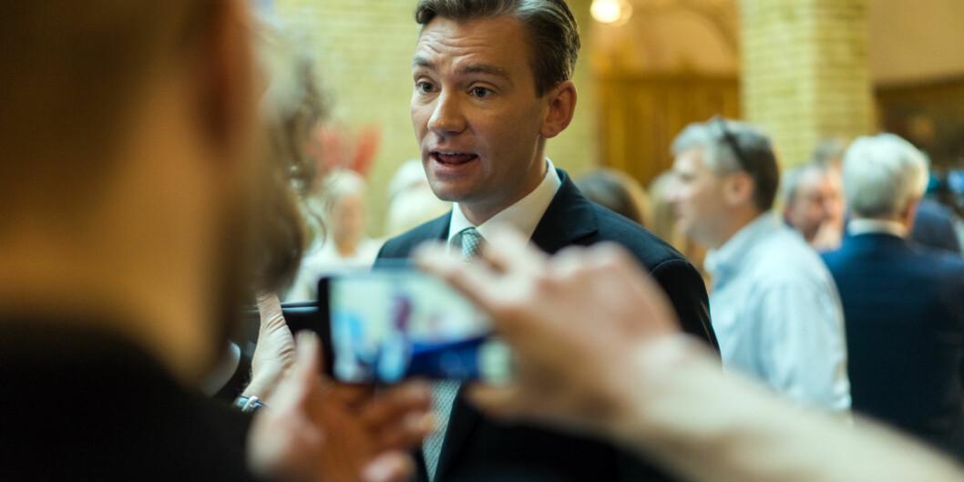 Asheim, Henrik. H¿yre. Statsbudsjettet. Stortinget Foto: Ketil Blom Haugstulen