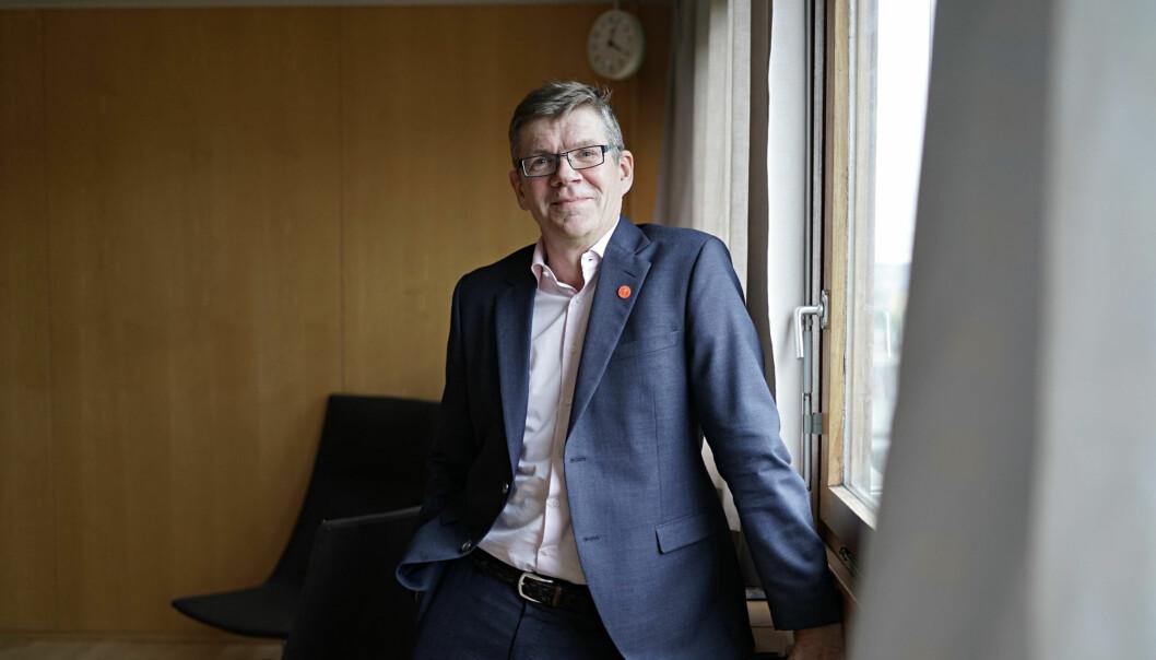 Rektor ved Universitetet i Oslo, Svein Stølen, skriver om regjeringens mulighetsstudie om blamt annet foretaksmodellen. Foto: Ketil Blom Haugstulen