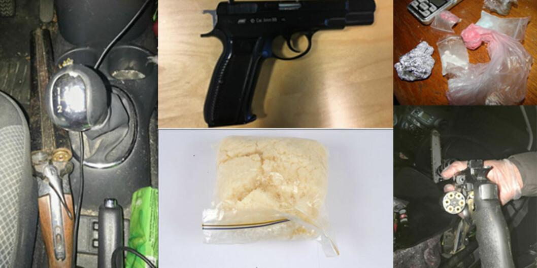 Mannen i 30-årene var forsker i flere år. Så raknet alt. Politiet fant over 800 gram amfetamin hjemme hos han, men mannen ble trodd på at stoffet ikke var hans. Foto:Politiet
