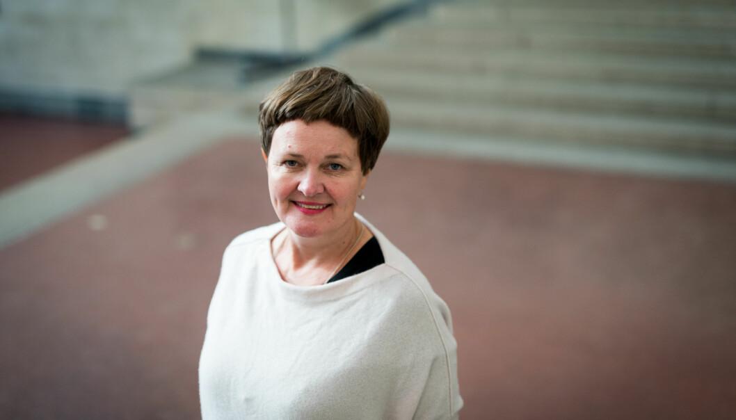 Anne Kristine Børresen, dekan ved NTNU ber om forståelse for at en videre diskusjon om innholdet i begrunnelsen for å omplassere Kristian Steinnes ikke egner seg for videre debatt i media. Foto: NTNU