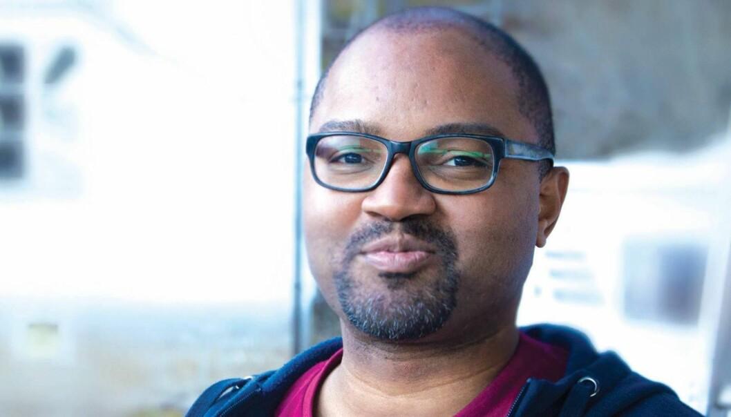 Eton Williams er ny studentleder på Høgskolen i Sørøst-Norge. Foto: ElinGravningen