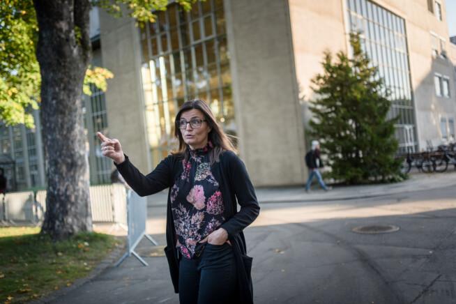 Merete Kvidal er leder av campusprosjektet ved NTNU. Foto: Skjalg Bøhmer Vold