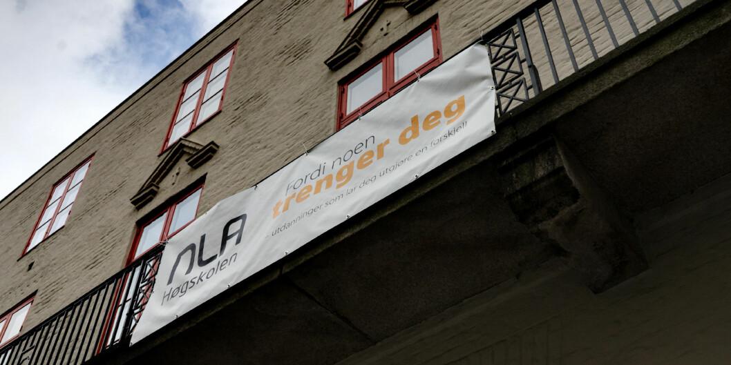 """<span class=""""caps"""">NLA</span> Høgskolen får kritikk for den humanistiske forskningensin. Foto: Ketil Blom Haugstulen"""