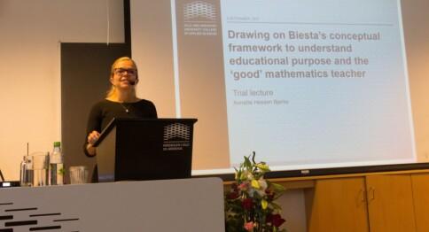 Doktor på matematikk i utdanning av lærere