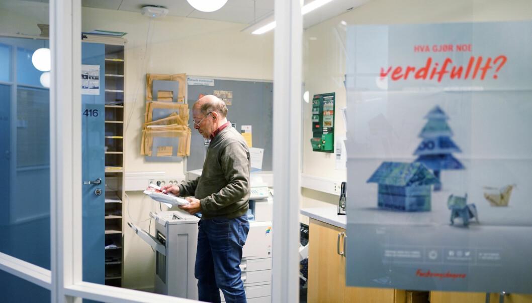 Førsteamanuensis og dr. juris, Jens Petter Berg, har gått til søksmål mot Høgskolen i Oslo og Akershus for usaklig oppsigelse. Foto: Ketil Blom Haugstulen