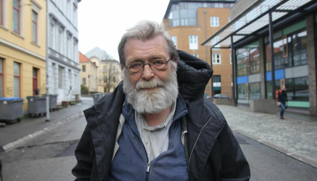 Frank Aarebrot ble 70 år gammel. Foto:UiB