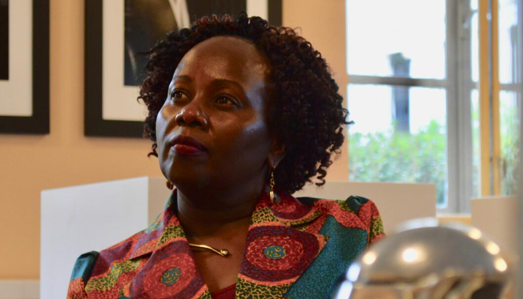 En av seks nye æresdoktorer ved Universitet i Oslo: Patricia Kameri-Mbote er professor ved School of Law, University of Nairobi. Foto: ØysteinFimland
