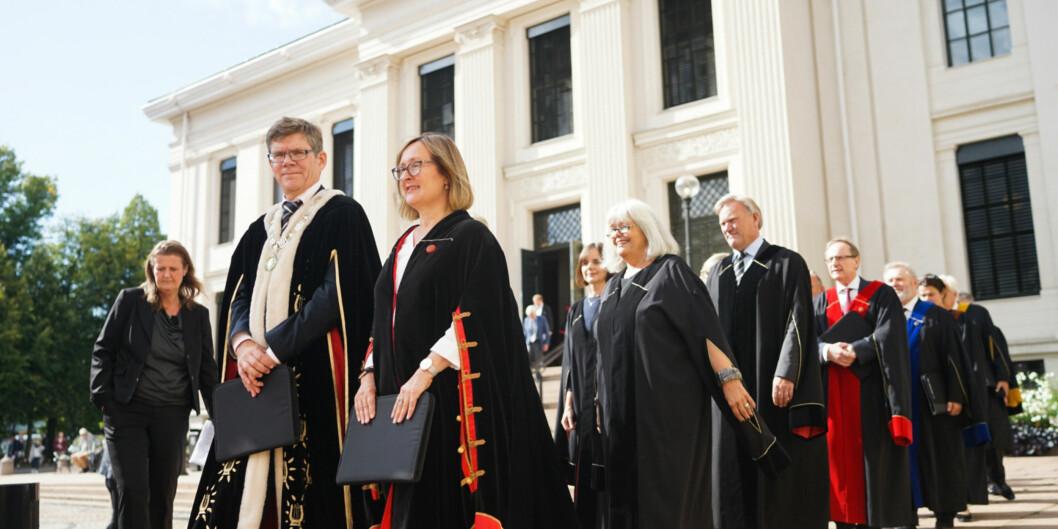"""Universitetet i Oslo er på 146. plass av de 1000 beste universitetene i verden, ifølge <span class=""""caps"""">THE</span> World University Rankings 2018. Foto: Ketil BlomHaugstulen"""