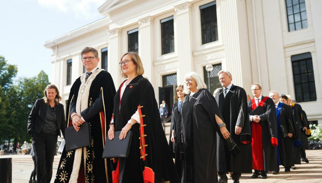 Universitetet i Oslo er på 146. plass av de 1000 beste universitetene i verden, ifølge THE World University Rankings 2018. Foto: Ketil BlomHaugstulen