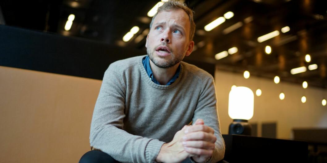 """<span class=""""caps"""">SV</span> og leder Audun Lysbakken gjør et sterkt skolevalg er like store somFremskrittspartiet. Foto: Ketil Blom Haugstulen"""