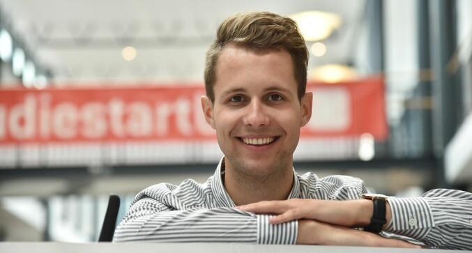 Kai Steffen Østensen opprettholder også lederkandidaturet sitt. Foto: Olav Breen/UiA