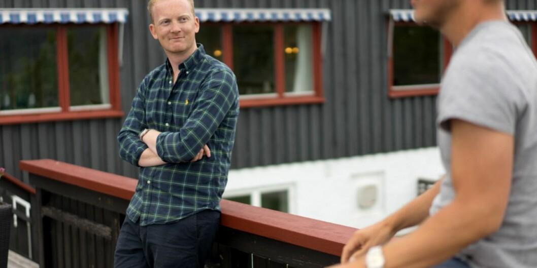 """<span class=""""caps"""">ANSA</span>-president, Ole Kristian Bratset, peker på at andelen som tar utdanning i utlandet har gått nedoverlenge."""