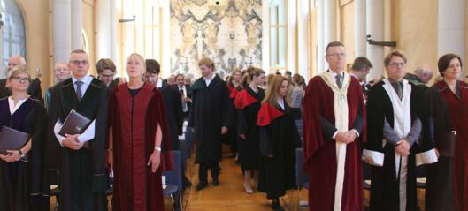 UiB feira nye doktorar frå 26 forskjellige land