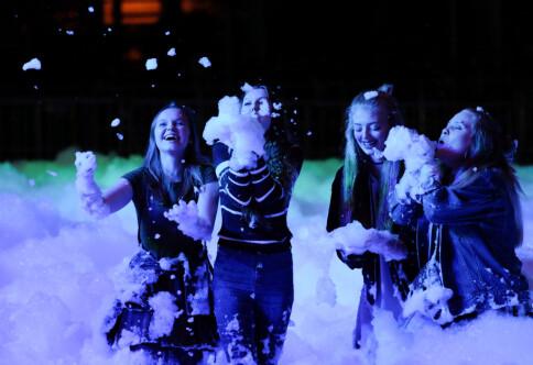 Skumparty avsluttet studentfestivalen i Oslo
