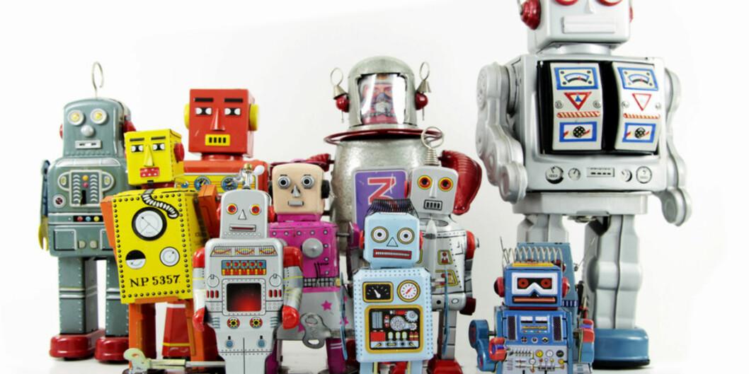 Robotene står klare til å ta over enkle administrative jobber på universitetene, men de vil garantert ikke se slik ut. Dagens saksbehandler-roboter ser ut som en ganske vanlig, kjedeligserver. Foto: charles taylor