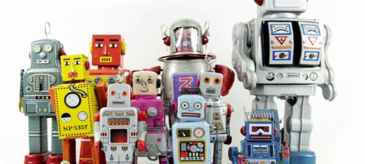 Nå skal robotene innta universitets-Norge