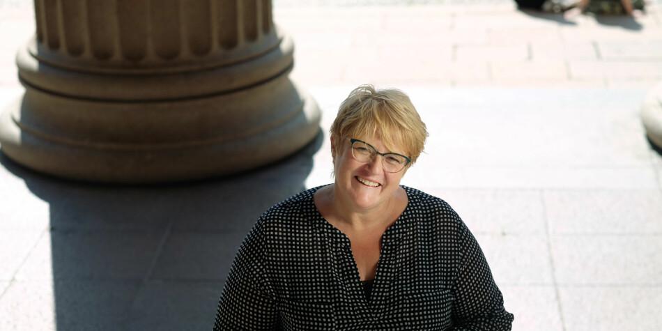 Kulturminister, Trine Skei Grande, har tatt initiativet til opprettelsen av en ny Ytringsfrihetskommisjon. Foto: Ketil Blom Haugstulen