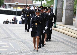 Nye politistudenter møter utdanning i rask endring
