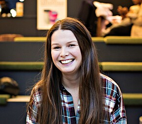 Martine Gjerde, 28 år fra Bud i Romsdal. Hun studerte våren 2018 ved OsloMet, og studerer nå ved NMBU.