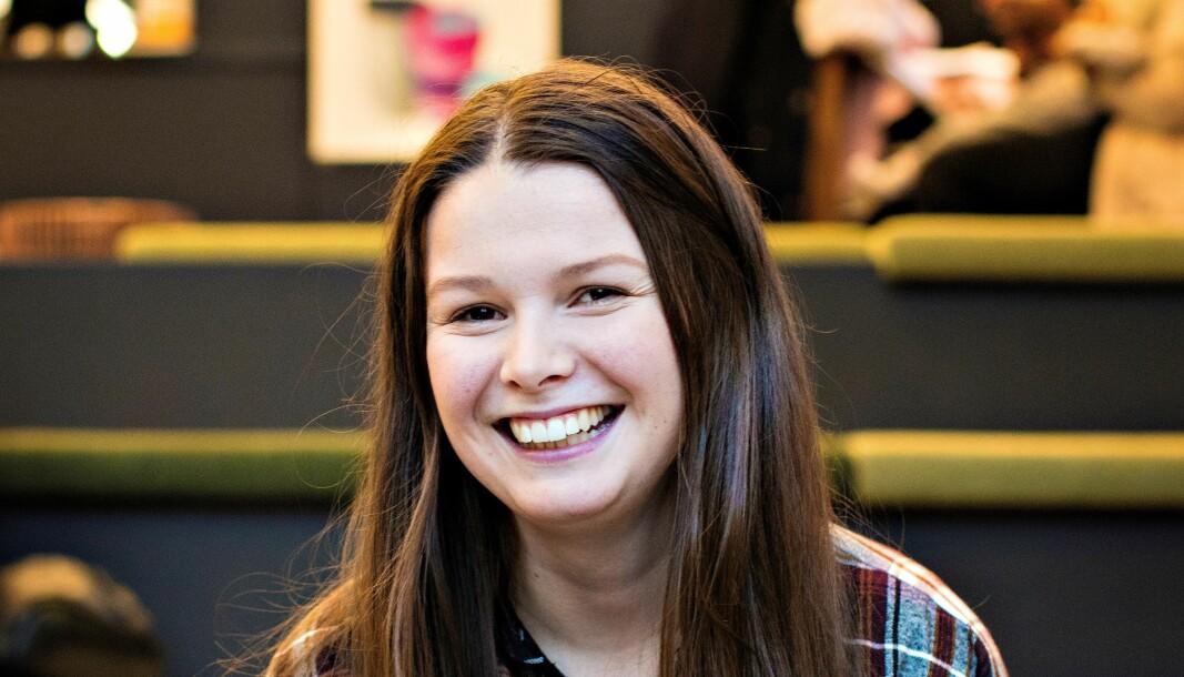 Martine Gjerde tar en mastergrad i folkehelsevitenskap ved Norges miljø- og biovitenskapelige universitet.
