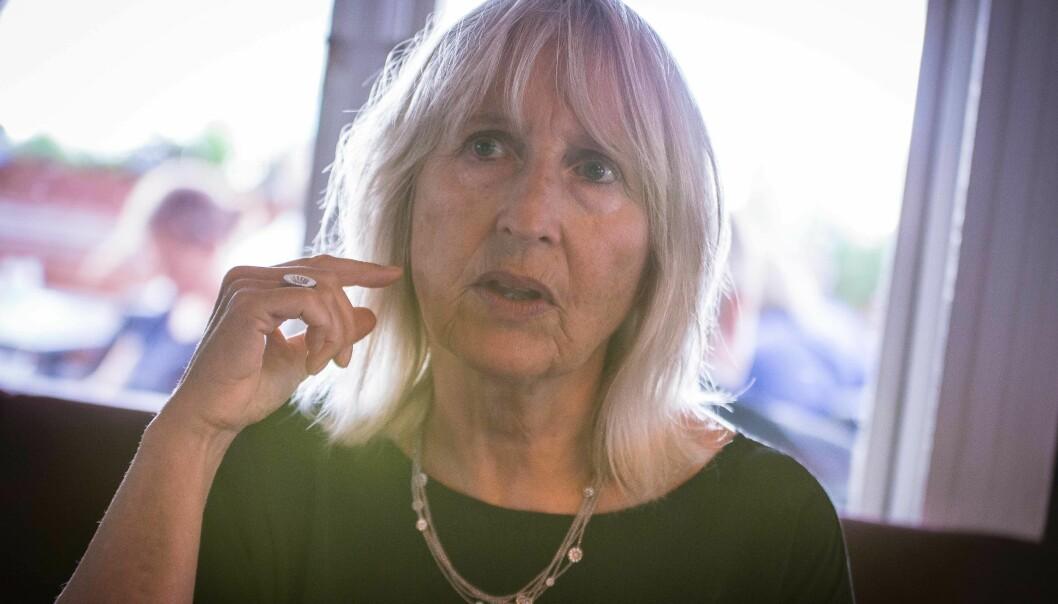 Marit Boyesen, rektor ved Universitetet i Stavanger, ønsker et medisinsk fakultet ved UiS velkommen påsikt. Foto: Siri Øverland Eriksen