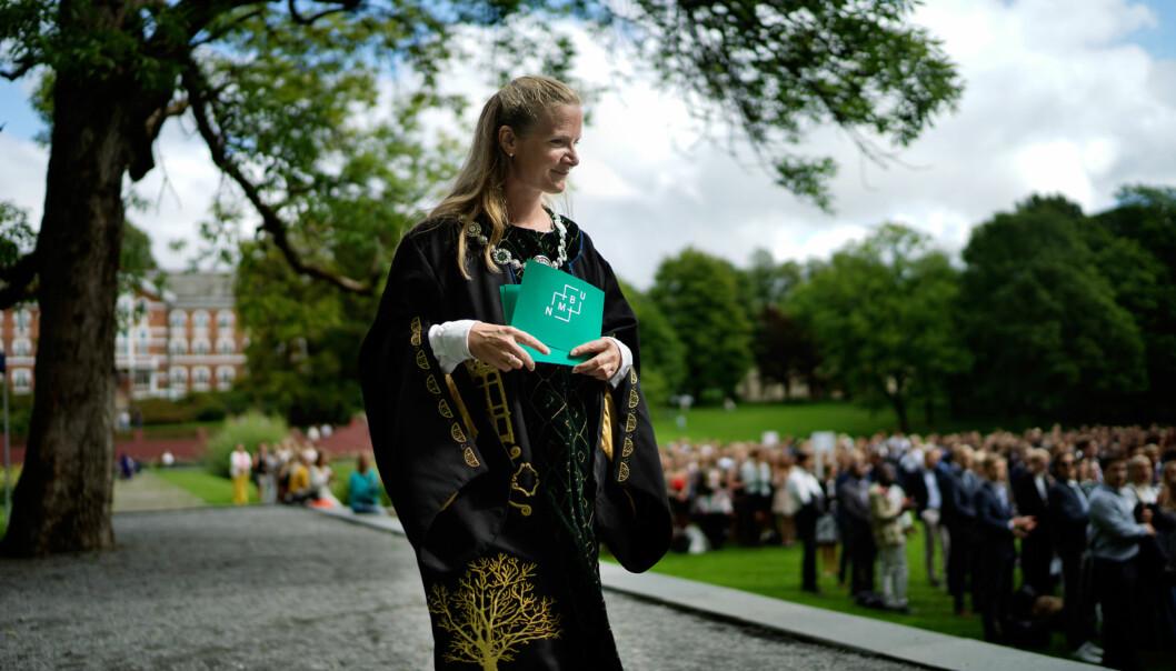 Rektor ved NMBU, Mari Sundli Tveit. Foto: Ketil Blom Haugstulen