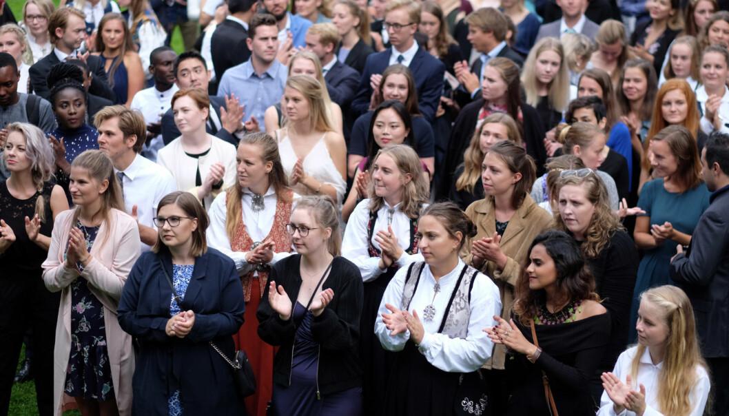 Student på Høgskolen i Oslo og Akershus, Martine Gjerde, understreker i dette innlegget hvor viktig det er at alle studenter engasjerer seg. Foto: Ketil Blom Haugstulen