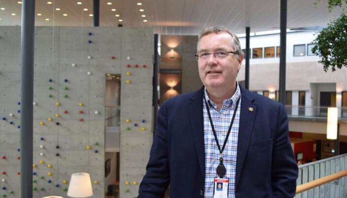 Direktør Ole Ringdal sier at UiS ikke har nye planer om økonomisk kompensasjon for hjemmekontor under pandemien.