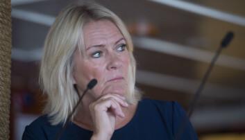 Kristin Clemet. Undervisningsminister i 2001. Foto: Anders Martinsen