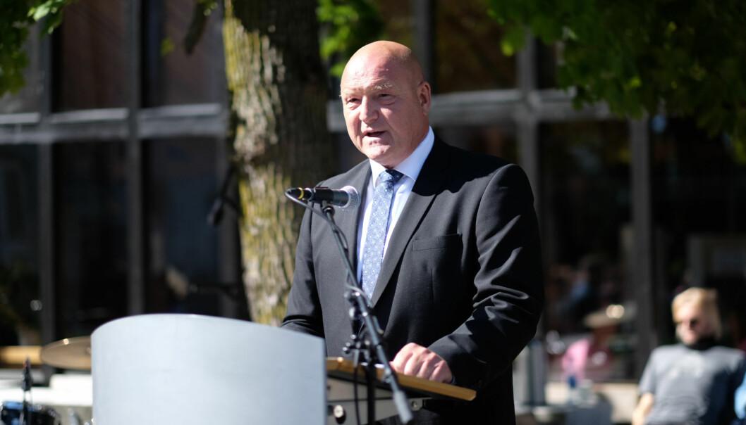 Dekan Morten Ørbeck, Høgskolen i Innlandet. Foto: Ketil Blom Haugstulen