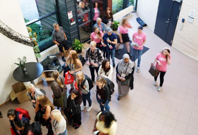 Studiestart Høgskolen i Innlandet på Hamar 2017. Foto: Ketil Blom Haugstulen