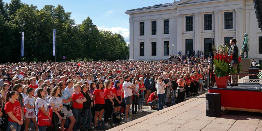 Rødt vil gi studenter mulighet til å studere fulltid uavhengig av sosial bakgrunn, og legge til rette for en studiekvalitet på et helt annet nivå enn vi har i dag, skriver Marie Sneve Martinussen. Foto: Ketil Blom Haugstulen