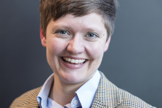 Forsker Helga Eggebø.